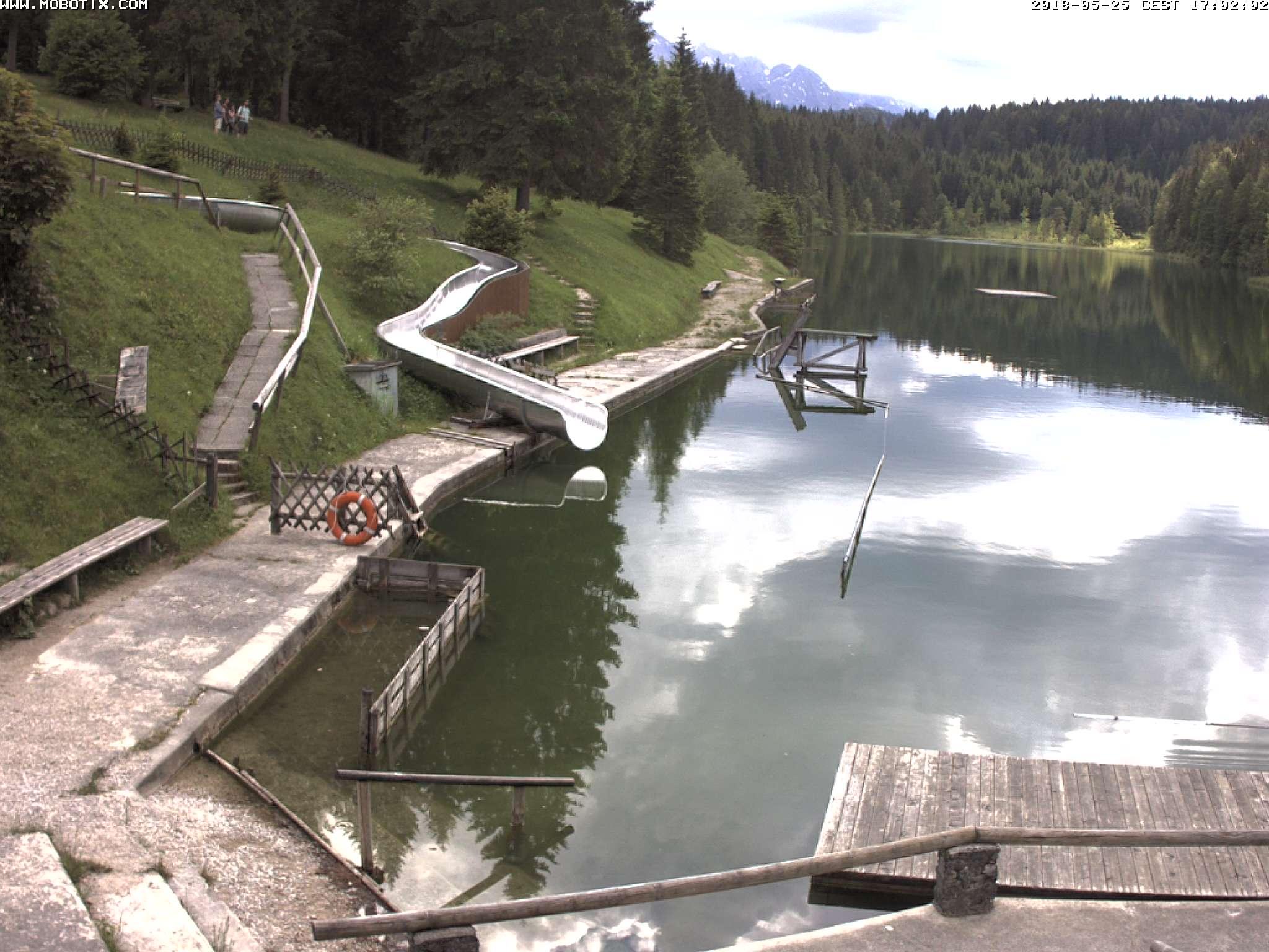 Webcam Grubsee 17 Uhr